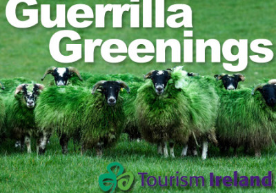 guerrilla marketing tourism ireland