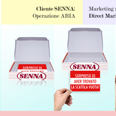Gioco adv - Marketing alternativo - Direct marketing - Operazione aria