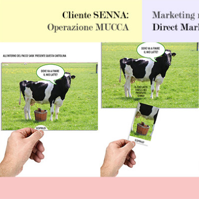 Giocoadv - marketing alternativo - direct marketing - Operazione Mucca